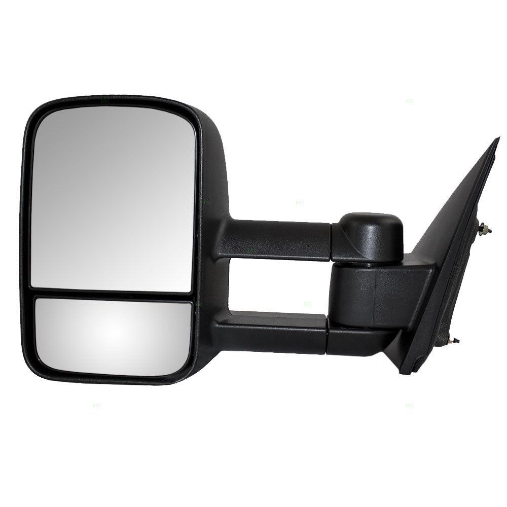 ミラー 14-17 Silverado Sierra Pickup Drivers Manual Tow Side Mirror Telescopic Dual Arm 14-17シルバラード・シエラ・ピックアップ・ドライバーマニュアル牽引側ミラー伸縮式二重アーム