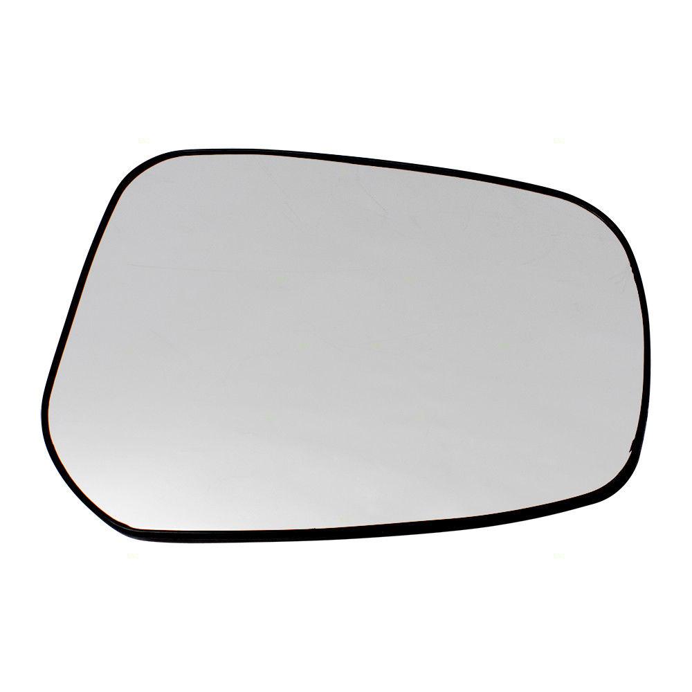 ミラー 15-17 Mitsubishi Lancer Sportback & Evolution Passengers Mirror Glass w/ Base 15-17三菱ランサースポーツバック& 進化した乗客ミラーガラス(ベース付)