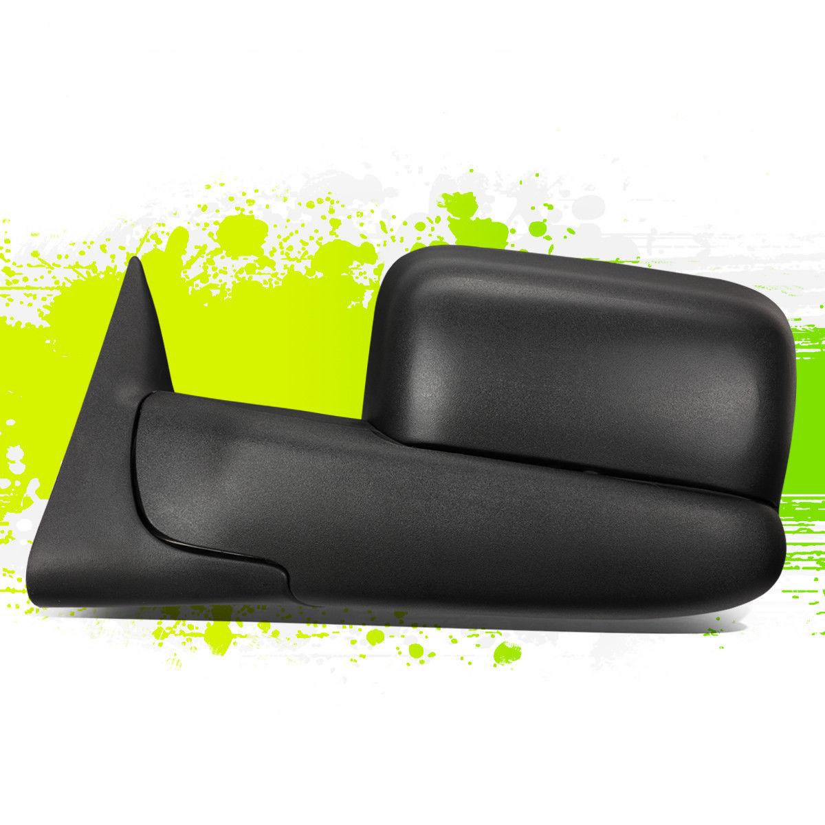 ミラー DRIVER SIDE POWERED ADJUSTMENT TOW TOWING MIRROR W/HEATED FOR 02-09 DODGE RAM ドライバーサイドパワードアジャスタータワータウニングミラーW / 02-09ダッジRAM用