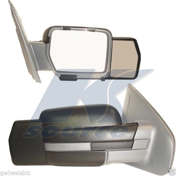 ミラー 2009-2012 2013 2014 FORD F150 CLIP SNAP-ON TOWING SIDE MIRROR EXTENSION (PAIR) 2009-2012 2013 2014 FORD F150クリップ畳み込みサイドミラー拡張(ペア)