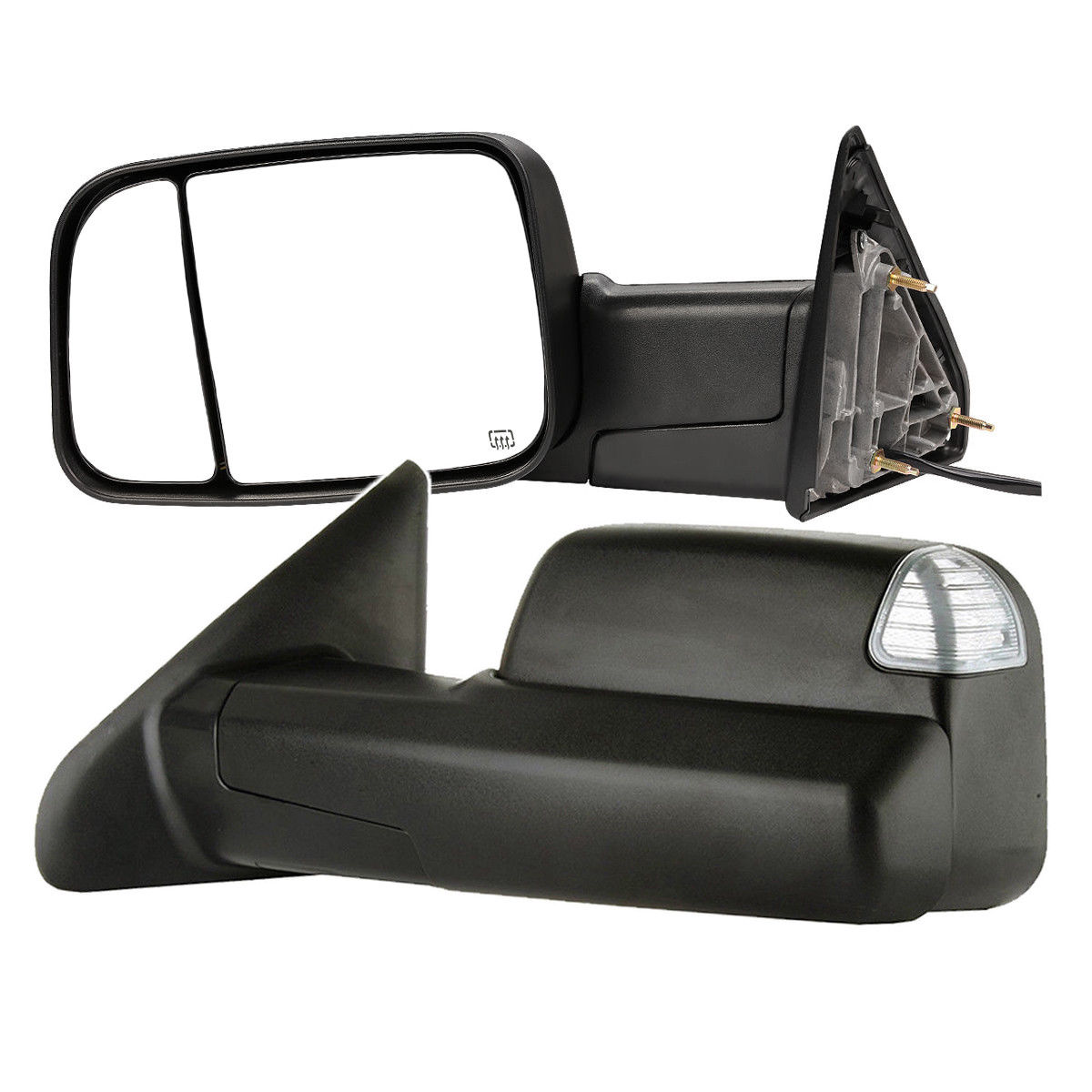 Left Passenger Side NS Door Wing Mirror Cover Dark Grey MERCEDES A CLASS