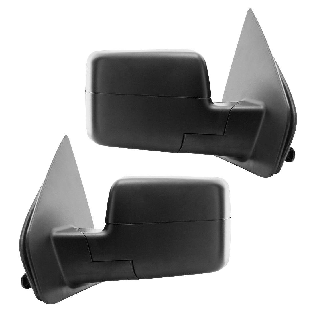 ミラー New Set of 2 Power Heated LED Turn Signal Door Mirrors for Ford F-150 04-06 Pair フォードF-150用の2つのパワーヒーティングLEDターンシグナルドアミラーの新しいセット04-06ペア