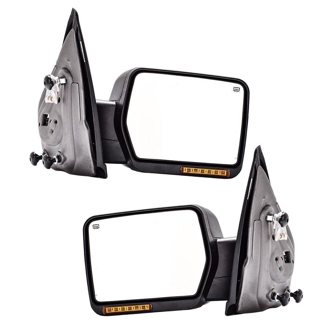 04-06 Driver Side Power Door Mirror Ford F-150 Light Duty