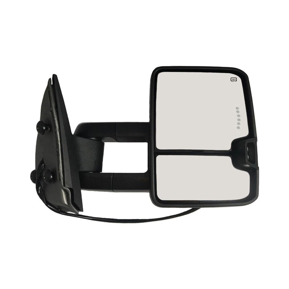 ミラー Right 13-14 Silverado Sierra Towing Mirror Power Heated LED Signal 1500~3500HD 右13-14 Silverado Sierra牽引ミラーパワーヒートLED信号1500?3500HD