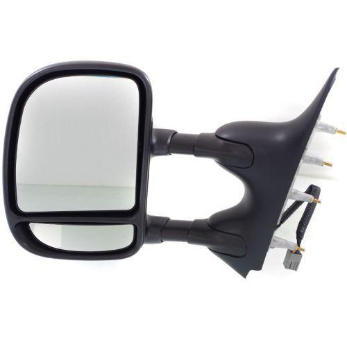 ミラー For E-250 09-13, Driver Side Mirror, Textured Black E-250 09-13、ドライバーサイドミラー、テクスチャードブラック