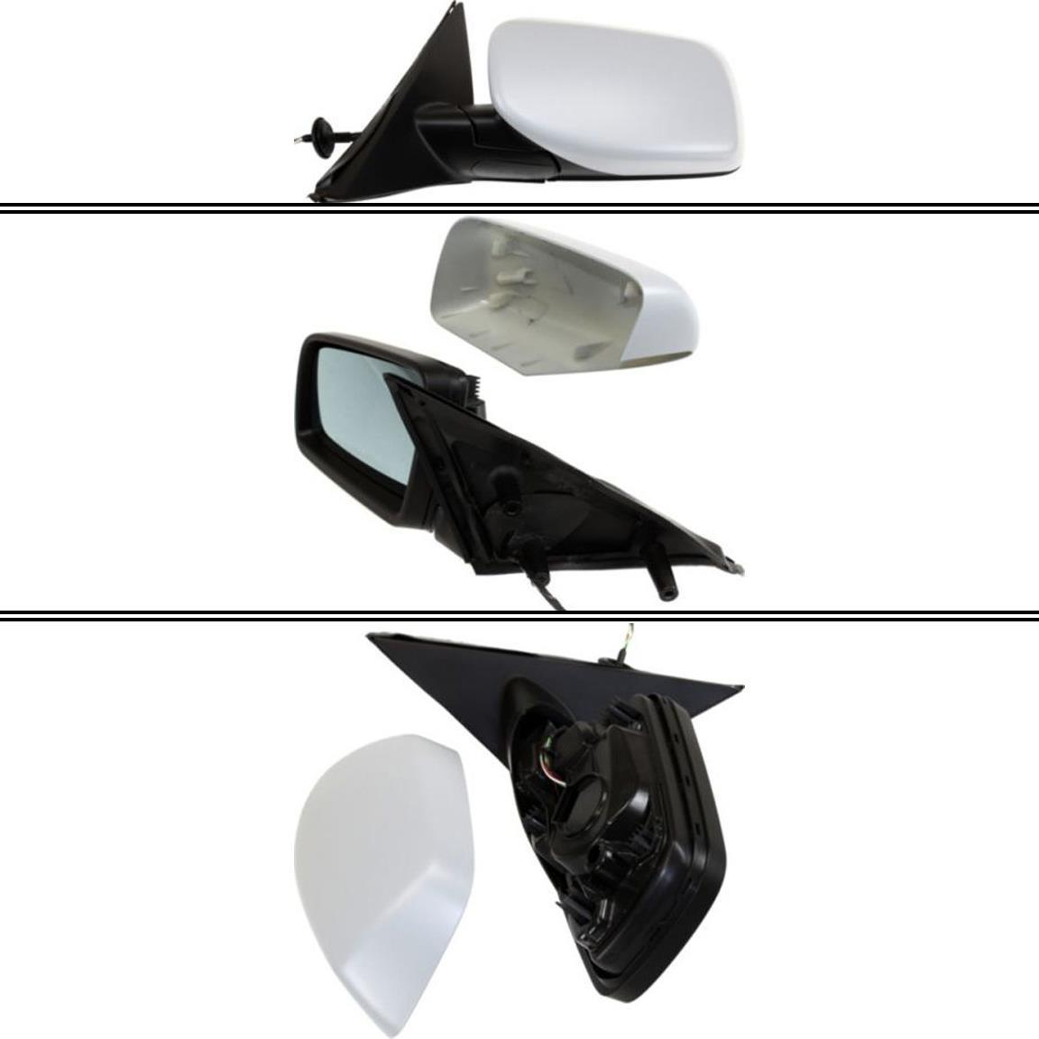 ミラー New Driver Side Mirror for BMW 525i 2004-2007 BMW 525i 2004-2007用の新しいドライバサイドミラー
