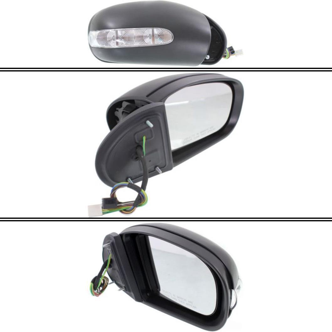 ミラー New Passenger Side Mirror for Mercedes-Benz E55 AMG 2003-2009 Mercedes-Benz E55 AMG 2003-2009用新型助手席ミラー