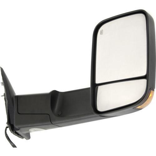 ミラー For 2500 11-12, Passenger Side Mirror, Textured Black 2500 11-12用、乗客側ミラー、テクスチャードブラック