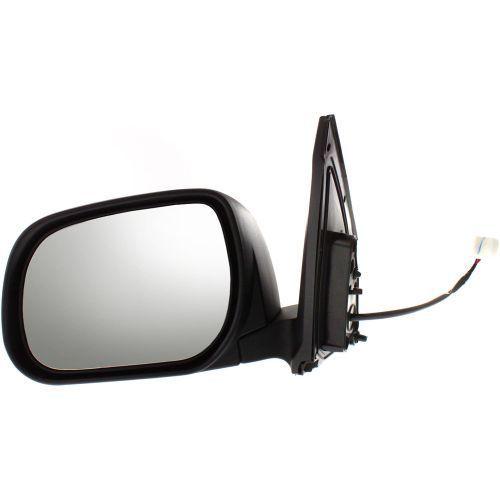 ミラー For RAV4 09-12, Driver Side Mirror, Textured Black RAV4 09-12、ドライバーサイドミラー、テクスチャードブラック