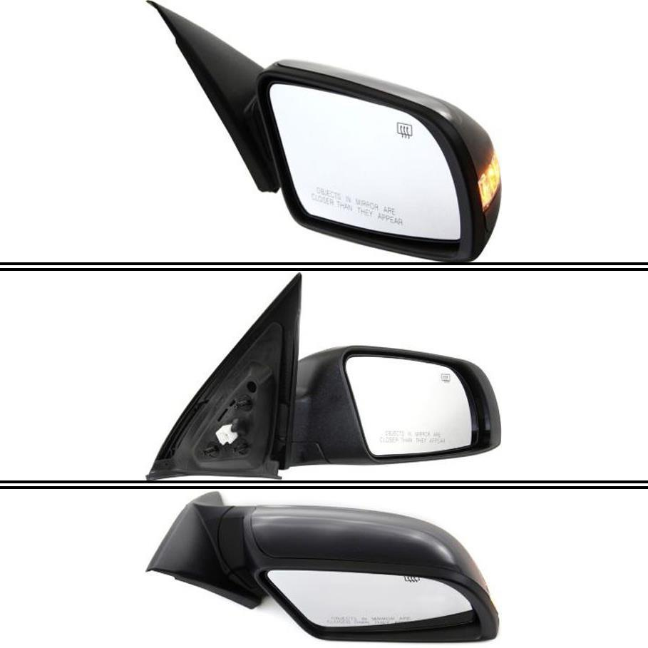 ミラー New NI1321164 Passenger Side Mirror for Nissan Altima 2007-2012 Nissan Altima 2007-2012用NI1321164新型助手席ミラー