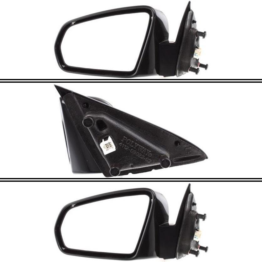 Right Driver side Flat Wing door mirror glass for Subaru Impreza 2007-2012