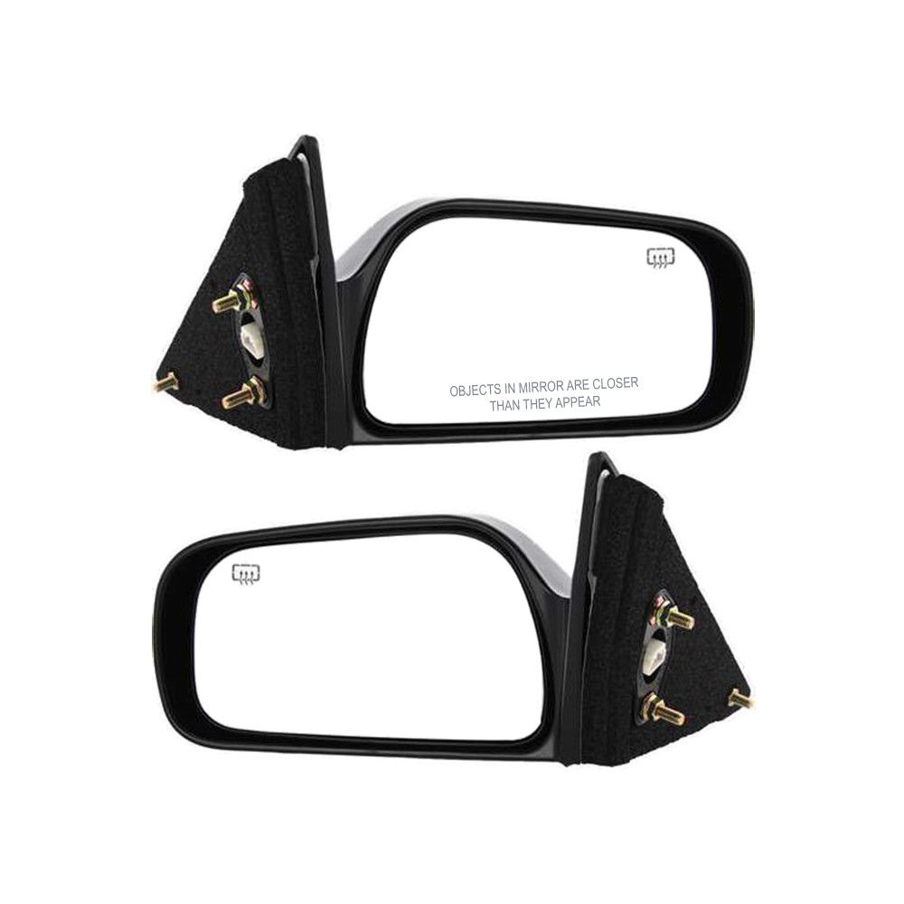 ミラー New Set of 2 Door Heated Mirrors (LH & RH Side) for Toyota Camry 1997-2001 Pair トヨタカムリ用ドアヒートミラー(LH&RH側)の新セット1997-2001ペア