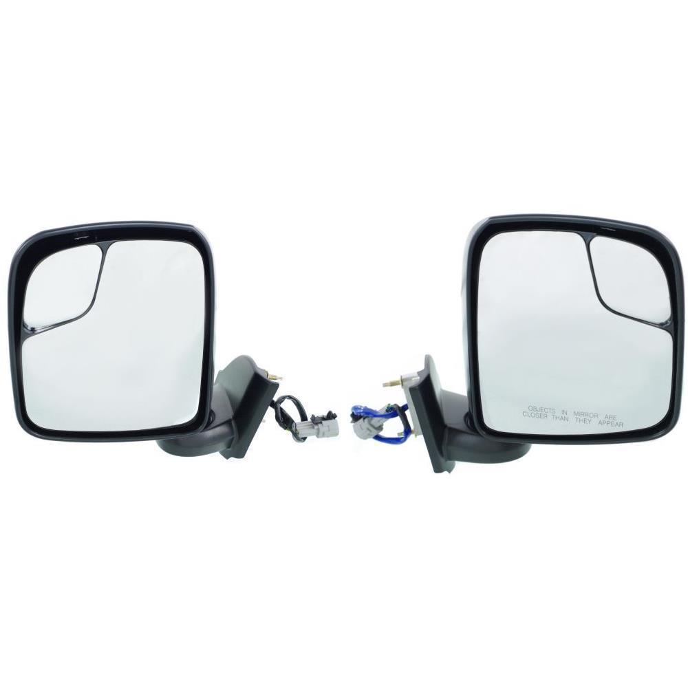 ミラー New NI1320247, NI1321247 Door Mirror Set for Chevrolet City Express 2015-2016 Chevrolet City Express 2015-2016の新しいNI1320247、NI1321247ドアミラーセット