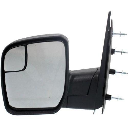 ミラー For E-250 10-13, Driver Side Mirror, Textured Black E-250 10-13、ドライバーサイドミラー、テクスチャードブラック