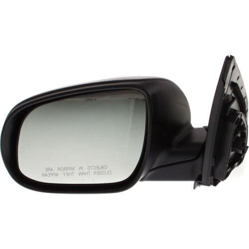 ミラー For Accent 10-11, Driver Side Mirror, Textured Black アクセント10-11、ドライバーサイドミラー、テクスチャードブラック