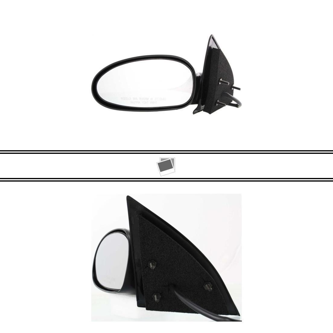 00 01 02 03 04 05 Saturn L-Series Set of Side View Power Mirrors Heated