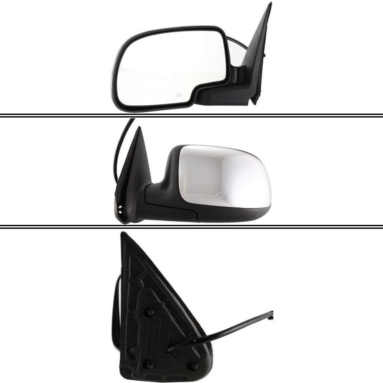 ミラー New GM1320173 Driver Side Mirror for Chevrolet Silverado 1500 1999-2002 Chevrolet Silverado 1500 1999-2002用の新しいGM1320173ドライバサイドミラー