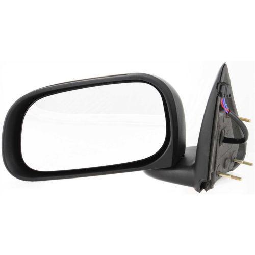 ミラー For Dakota 11, Driver Side Mirror, Textured Black ダコタ11、ドライバーサイドミラー、テクスチャーブラック