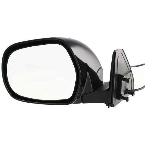 Power Mirror For 2003-2009 Toyota 4Runner Passenger Side Textured Black