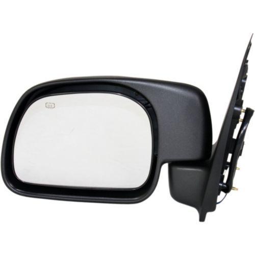 ミラー For Excursion 00-01, Driver Side Mirror, Textured Black エクスカーション00-01、ドライバーサイドミラー、テクスチャードブラック