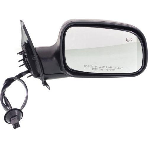 ミラー For Grand Cherokee 99-04, Passenger Side Mirror, Textured Black グランドチェロキー99-04、乗客側ミラー、テクスチャブラック