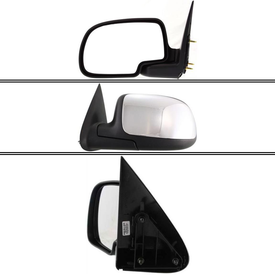 ミラー New GM1320208 Driver Side Mirror for GMC Sierra 1500 1999-2006 GMC Sierra 1500 1999-2006用の新しいGM1320208ドライバサイドミラー