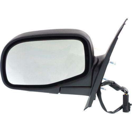 ミラー For Explorer 95-03, Driver Side Mirror, Textured Black エクスプローラ95-03、ドライバサイドミラー、テクスチャブラック