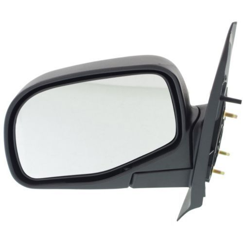 ミラー For Explorer Sport Trac 01-05, Driver Side Mirror, Textured Black Explorer Sport Trac 01-05、ドライバーサイドミラー、テクスチャーブラック