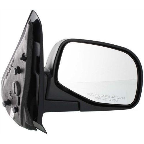ミラー For Explorer Sport Trac 01-05, Passenger Side Mirror, Textured Black Explorer Sport Trac 01-05の場合、助手席側ミラー、テクスチャードブラック