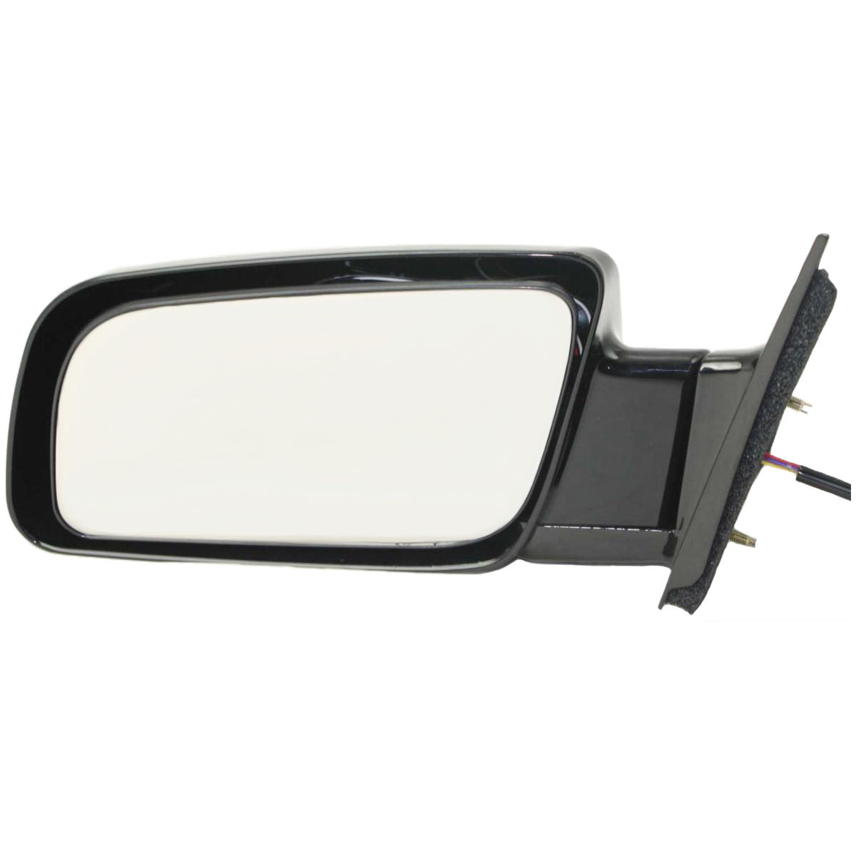 """NEW 5/"""" ROUND CLAMP ON SPOT MIRROR BLACK SIDE VIEW DOOR GLASS LENS UNIVERSAL FIT"""