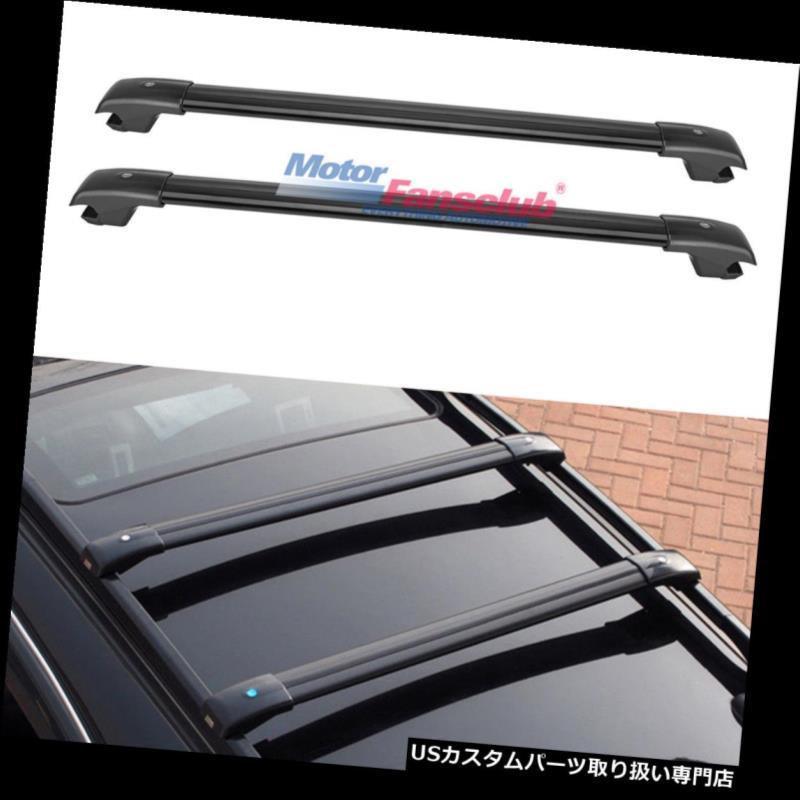 キャリア ジープチェロキー2014年-2017年のためのw /調の調節可能な上のルーフラックの荷物のクロスバー Adjustable Top Roof Rack Luggage Cross Bar w/ Key For Jeep Cherokee 2014-2017