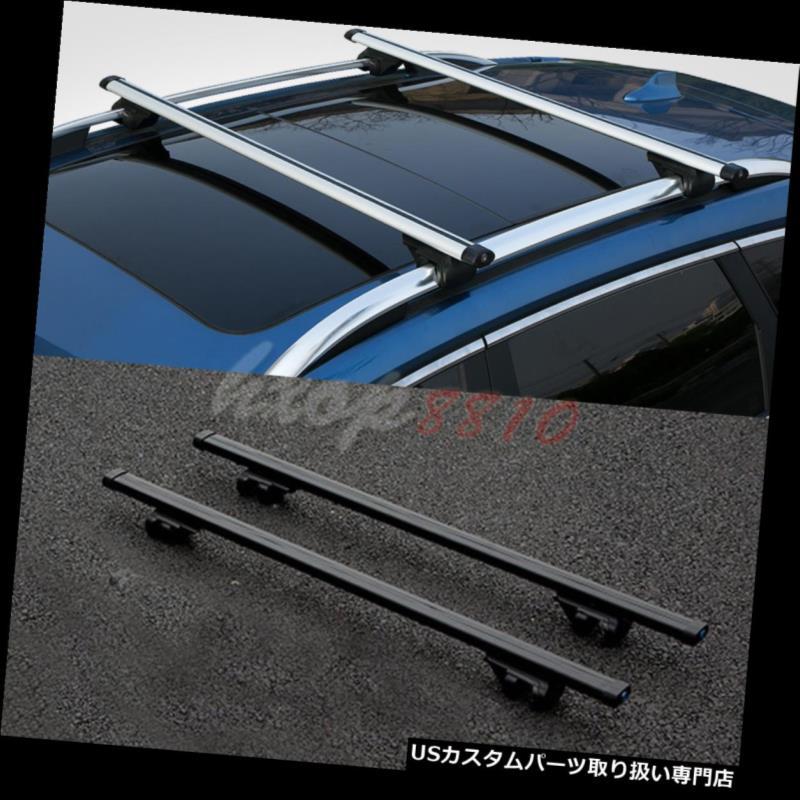 キャリア ユニバーサル貨物キャリアクロスバールーフラックw /盗難防止ロック1.2mブラック Universal Cargo Carrier Cross Bar Roof Rack w/ Anti-theft Lock 1.2m Black