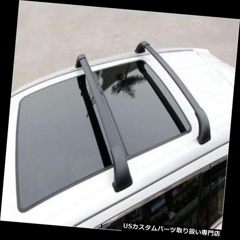 キャリア Toyota Highlander Kluger 2014 2015ルーフラゲッジラゲッジラッククロスバーレール For Toyota Highlander Kluger 2014 2015 roof baggage luggage rack cross bar rail