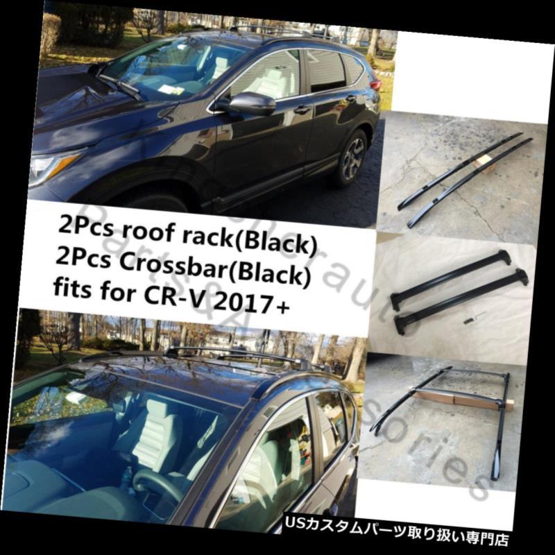 キャリア ホンダCRV CR-V 2017 2018 2019 4本ルーフラックレールクロスバークロスバー用フィット fits for HONDA CRV CR-V 2017 2018 2019 4Pcs roof rack rail cross bar crossbar