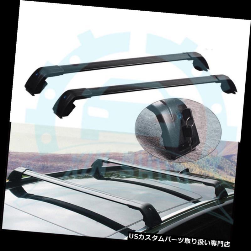 キャリア ヒュンダイグランドサンタフェ2013-2018用手荷物荷物ルーフラックレールクロスバー for Hyundai Grand Santa Fe 2013-2018 Baggage Luggage Roof Racks Rail Cross Bars