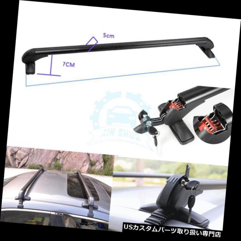 キャリア ホンダアコード2005-2010年のための黒いアルミ合金のクロスバーラックルーフフィット Black Aluminum Alloy Crossbar Rack Roof Fit For Honda Accord 2005-2010