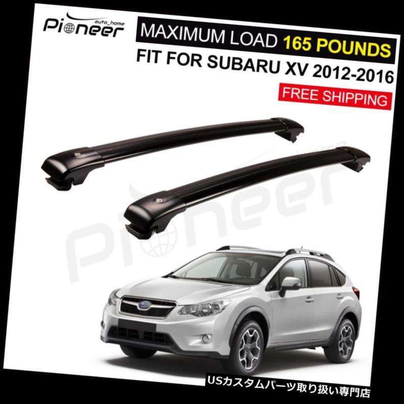 キャリア スバルXV 2012-2016ロック可能なルーフラック手荷物荷物ラッククロスバーにフィット Fit For Subaru XV 2012-2016 Lockable Roof Racks Baggage Luggage Racks Cross Bar