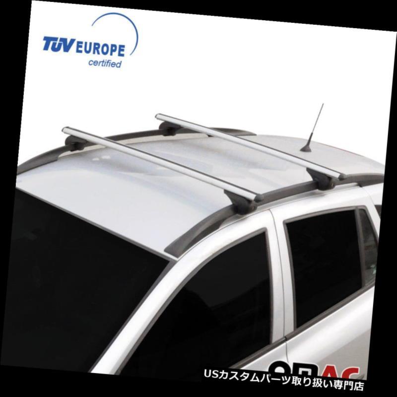 キャリア ジープチェロキーコンパスルーフラッククロスバークロスレールAlu.SET TUV付き2個 JEEP CHEROKEE COMPASS Roof Racks Cross Bars Cross Rails Alu.SET 2 Pcs with TUV