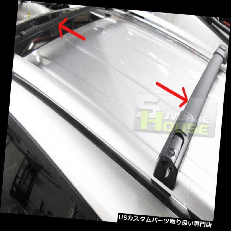 キャリア 13-18トヨタRAV4 OEスタイルアルミルーフラッククロスバー荷物キャリア For 13-18 Toyota RAV4 OE Style Aluminum Roof Rack Cross Bar Luggage Carrier