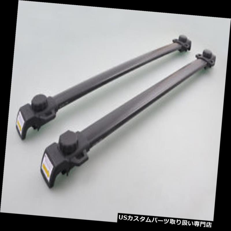 キャリア Dodge Journey 07-14 07 08のMtアルミニウム調節可能なルーフレールラッククロスバー Mt Aluminum Adjustable Roof Rail Rack Cross Bars For Dodge Journey 07-14 07 08