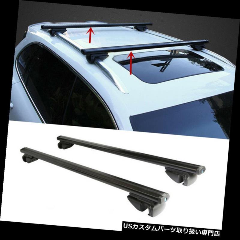 MITSUBISHI OUTLANDER 13-ON Aluminium Aero Roof Rack Bars Locking Cross Rails