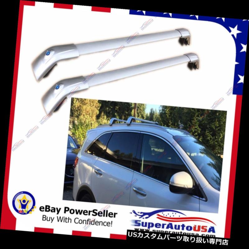 "Silver 55/"" Adjustable Window Frame Roof Rack Cross Bars Car Luggage Carrier S1"