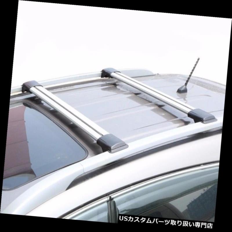 キャリア ボルボXC90ルーフラックルーフレールクロスバー2個のキー付きアルミニウム VOLVO XC90 Roof Rack Roof Rail CrossBars with two keys aluminum