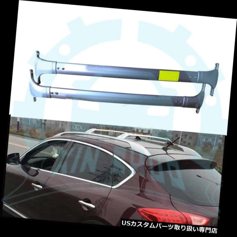 キャリア Infiniti QX50 EX 2010-2017用手荷物荷物OEMルーフレールラッククロスバーB for Infiniti QX50 EX 2010-2017 Baggage Luggage OEM Roof Rail Rack Cross Bars B