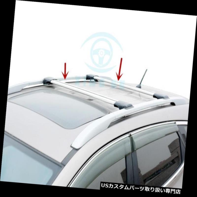 キャリア Touareg 2006-16 1セット合金クロスバールーフカーゴ荷物ラック用 For Touareg 2006-16 1set Alloy Cross Bar Roof Cargo Luggage Rack