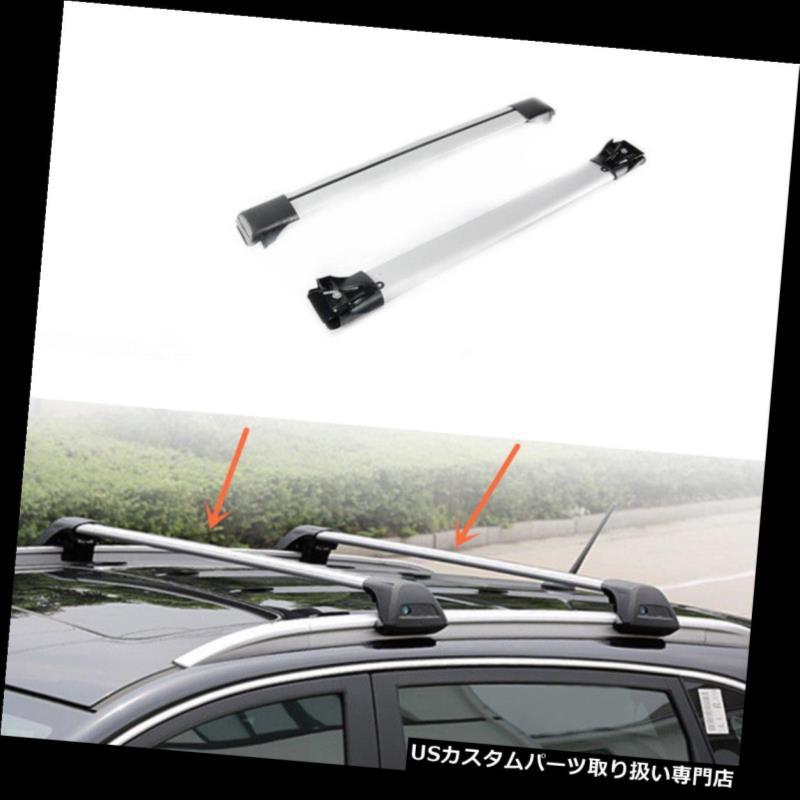 キャリア スバルトライベッカ2008-2014のための2PCSアルミクロスバールーフカーゴ荷物ラック 2PCS Aluminum Cross Bar Roof Cargo Luggage Rack For Subaru Tribeca 2008-2014