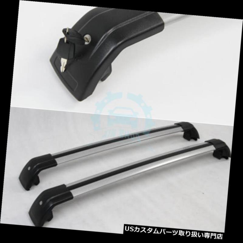 キャリア BMW X1 X3手荷物荷物ルーフラックレールアルミ用クロスバー Cross Bar for BMW X1 X3 Baggage Luggage Roof Rack Rail Aluminum