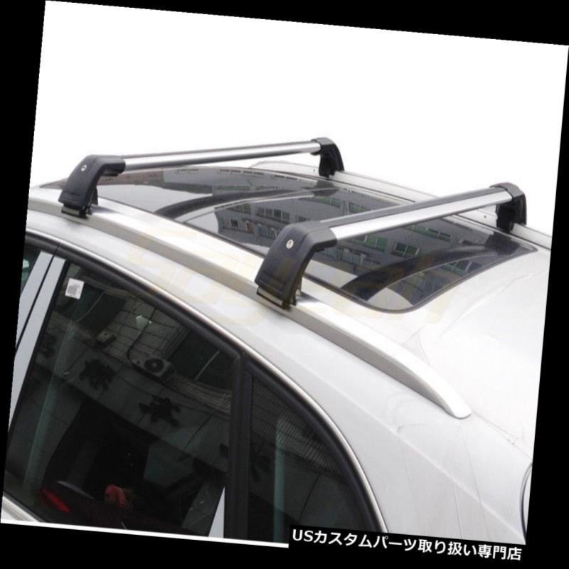 キャリア ランドローバーディスカバリースポーツ2015-2018ルーフレールラック用アルミクロスバー Aluminum Cross Bar for Land Rover Discovery Sport 2015-2018 Roof Rail Rack
