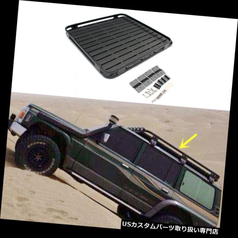 キャリア 日産PATROL Y60 Y61 2010-2016自動車運搬船ルーフラックバスケットクロスバー車用 For Nissan PATROL Y60 Y61 2010-2016 Car Carrier Roof Rack Basket Cross Bar Car