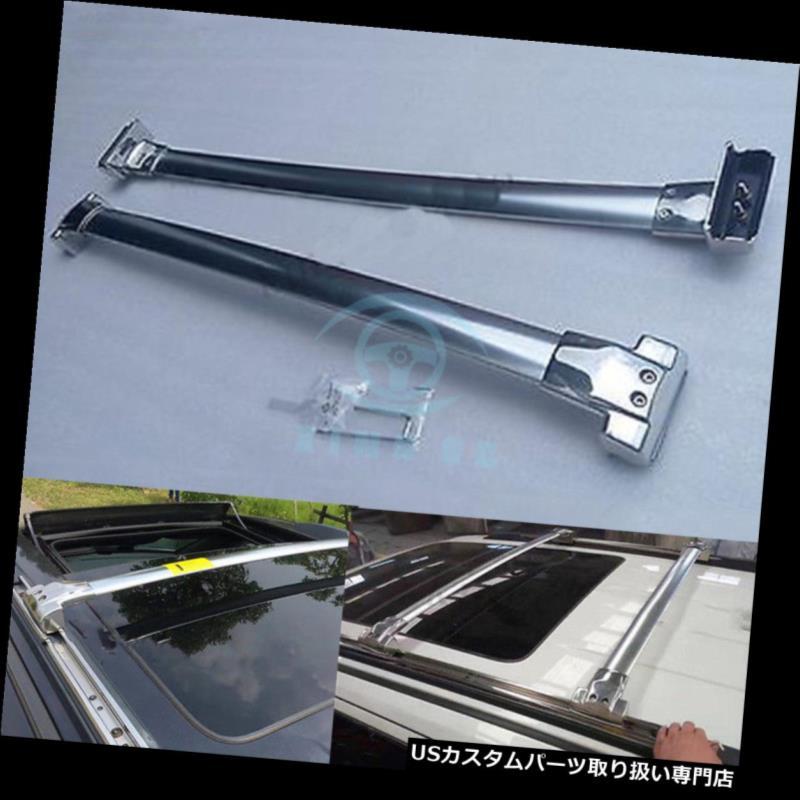 キャリア ジープグランドチェロキー11-18用ステンレス鋼ルーフラックレールクロスバークロスバー Stainless Steel Roof Rack Rail Cross bar Crossbar For JEEP Grand Cherokee 11-18